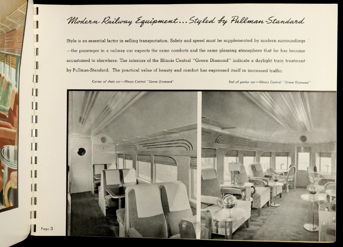 A PULLMAN-STANDARD RAILCAR CATALOG FOR 1937 - 6