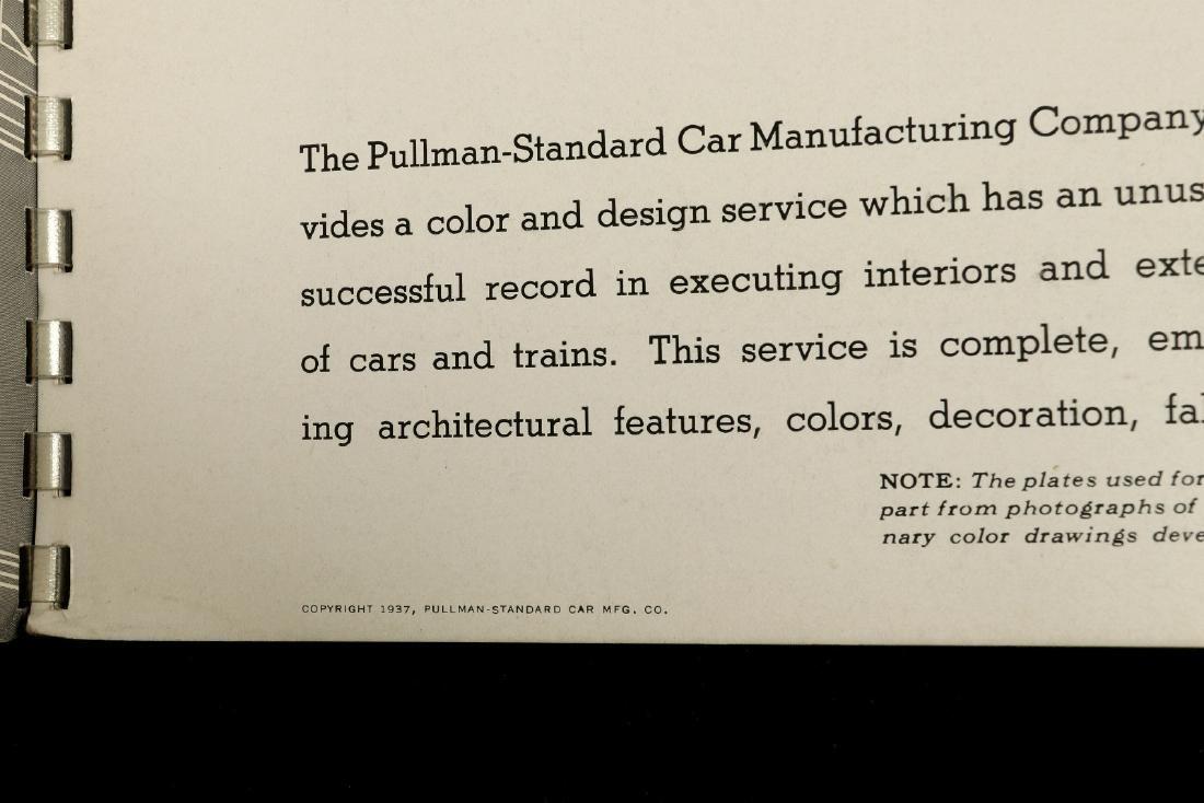 A PULLMAN-STANDARD RAILCAR CATALOG FOR 1937 - 9