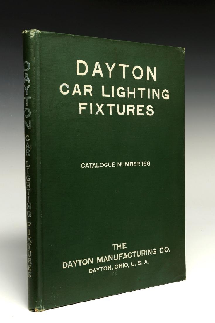 DAYTON MFG. CO. RAILCAR LIGHTING CATALOG, C. 1910