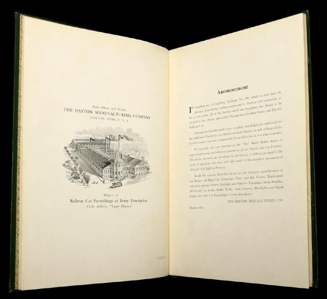 DAYTON MFG. CO. RAILCAR LIGHTING CATALOG, C. 1910 - 8
