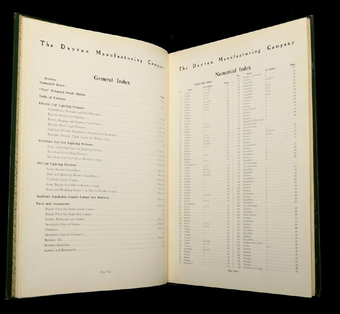 DAYTON MFG. CO. RAILCAR LIGHTING CATALOG, C. 1910 - 9
