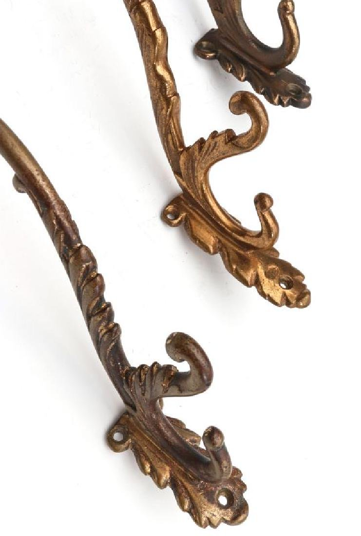 A COLLECTION OF ADLAKE RAILCAR COAT AND HAT HOOKS - 2