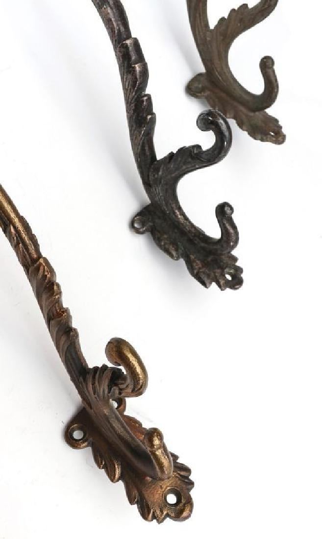 A COLLECTION OF ADLAKE RAILCAR COAT AND HAT HOOKS - 3