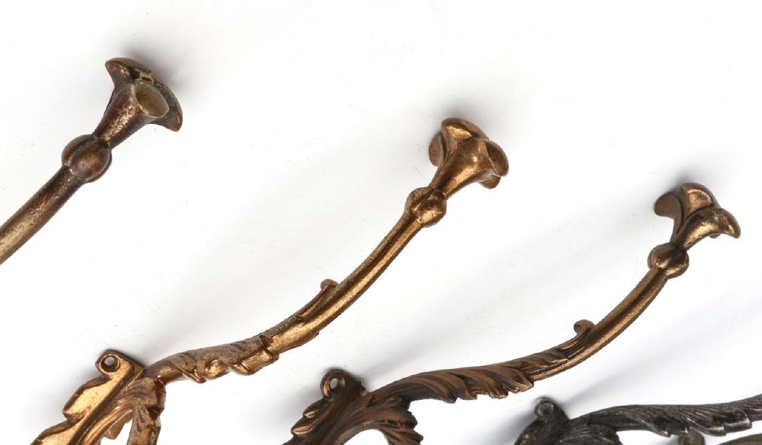 A COLLECTION OF ADLAKE RAILCAR COAT AND HAT HOOKS - 4