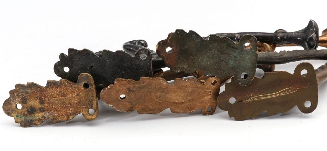 A COLLECTION OF ADLAKE RAILCAR COAT AND HAT HOOKS - 8