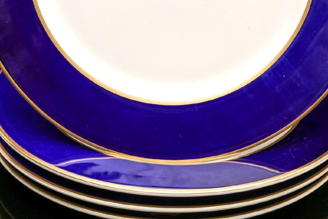 FOUR UNION PACIFIC DINNER PLATES WITH LOGO - 3