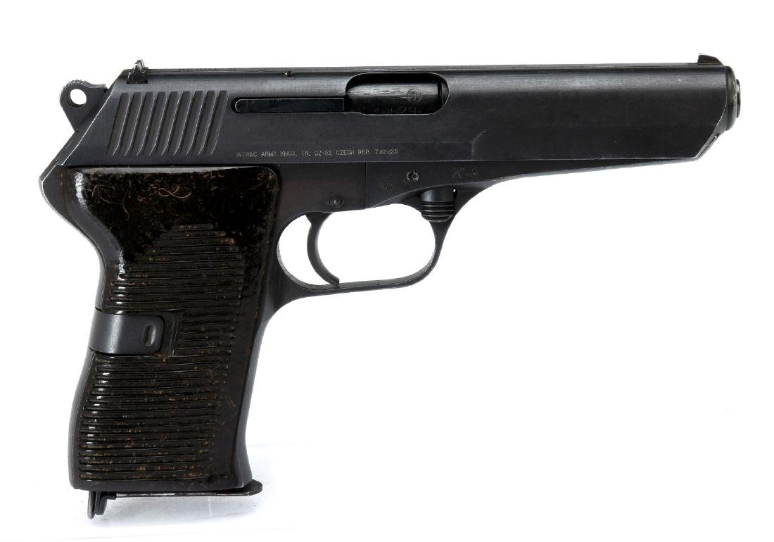 INTRAC ARMS CZ52 SEMI-AUTO 7.62X25 PISTOL, CZECH M
