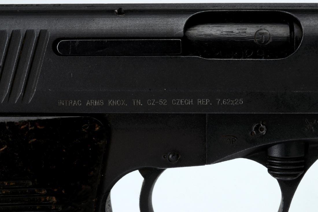 INTRAC ARMS CZ52 SEMI-AUTO 7.62X25 PISTOL, CZECH M - 4