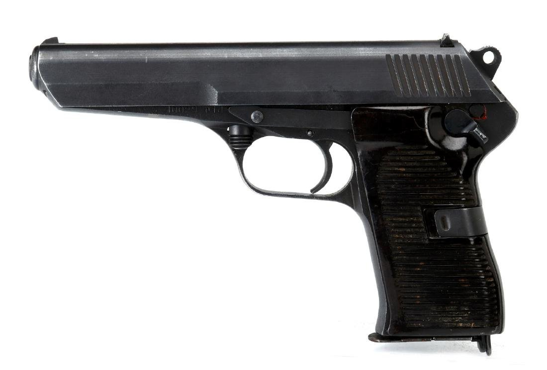 INTRAC ARMS CZ52 SEMI-AUTO 7.62X25 PISTOL, CZECH M - 6