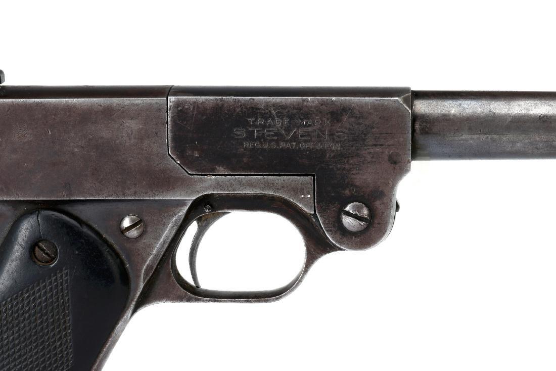 J. STEVENS MODEL 10 SINGLE SHOT .22 - 3