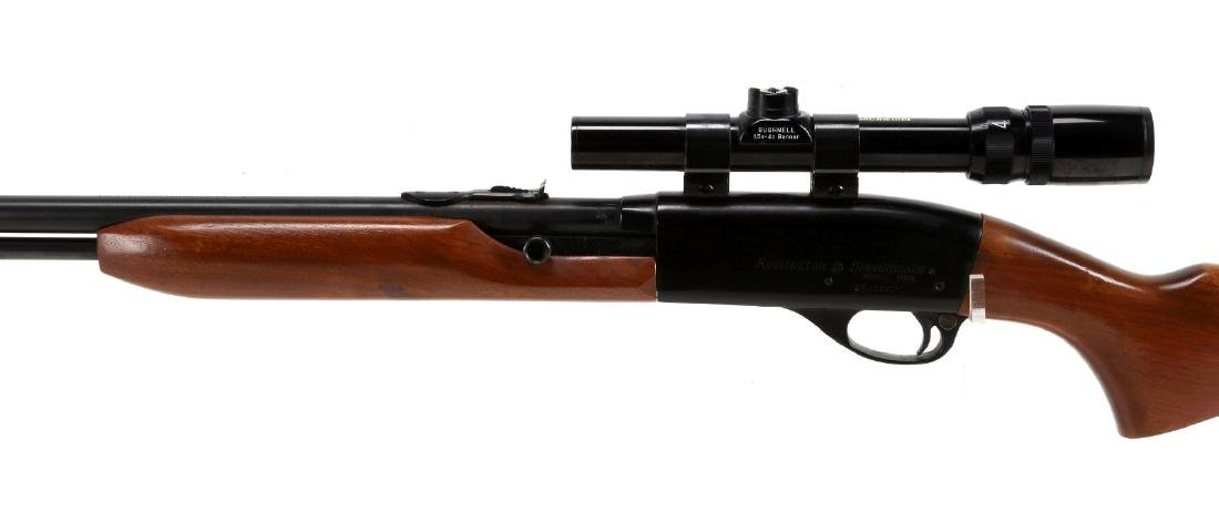 REMINGTON SPEED MASTER 552 WITH SCOPE - 10
