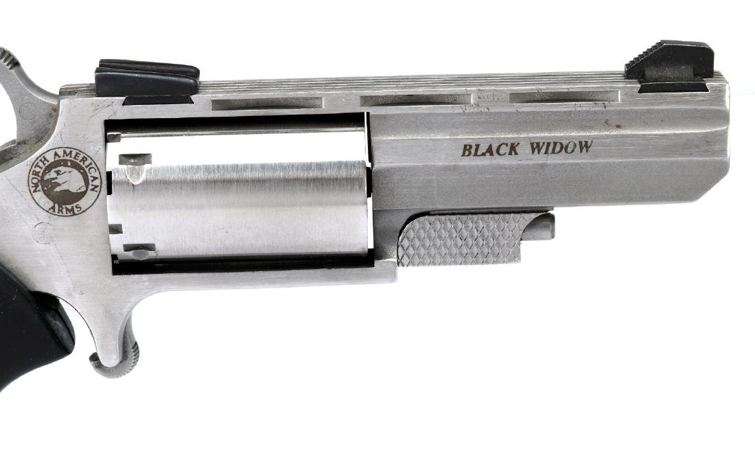 NORTH AMERICAN ARMS BLACK WIDOW .22 MAG REVOLVER - 3