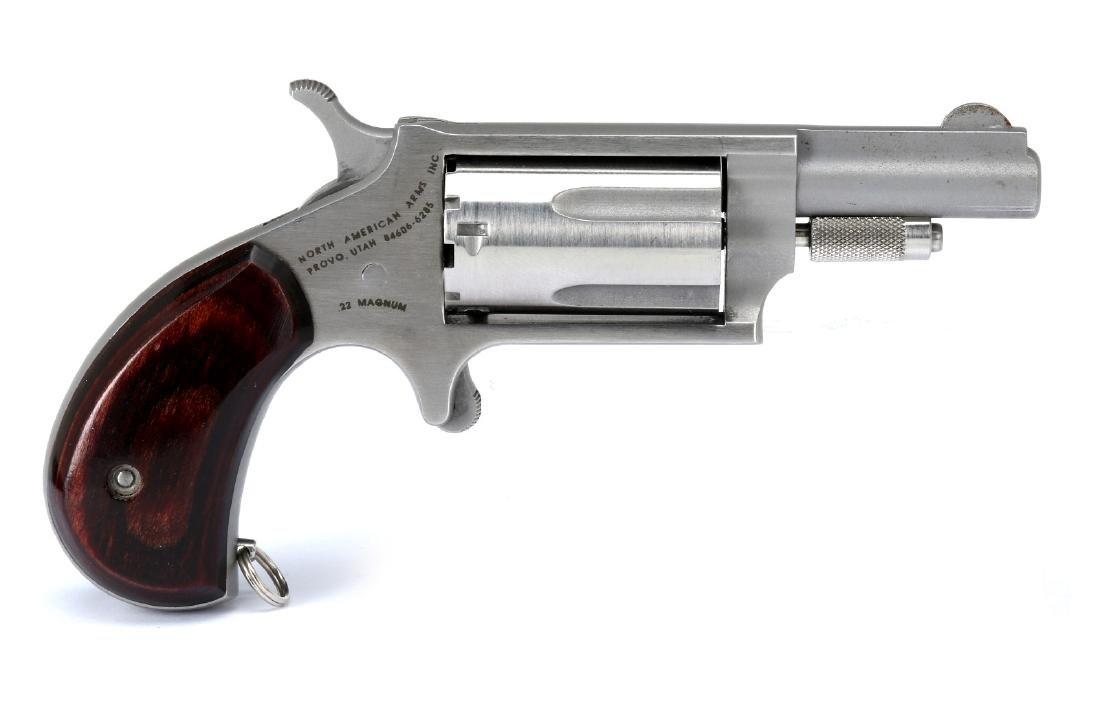 NORTH AMERICAN ARMS .22 MAGNUM MINI REVOLVER - 4
