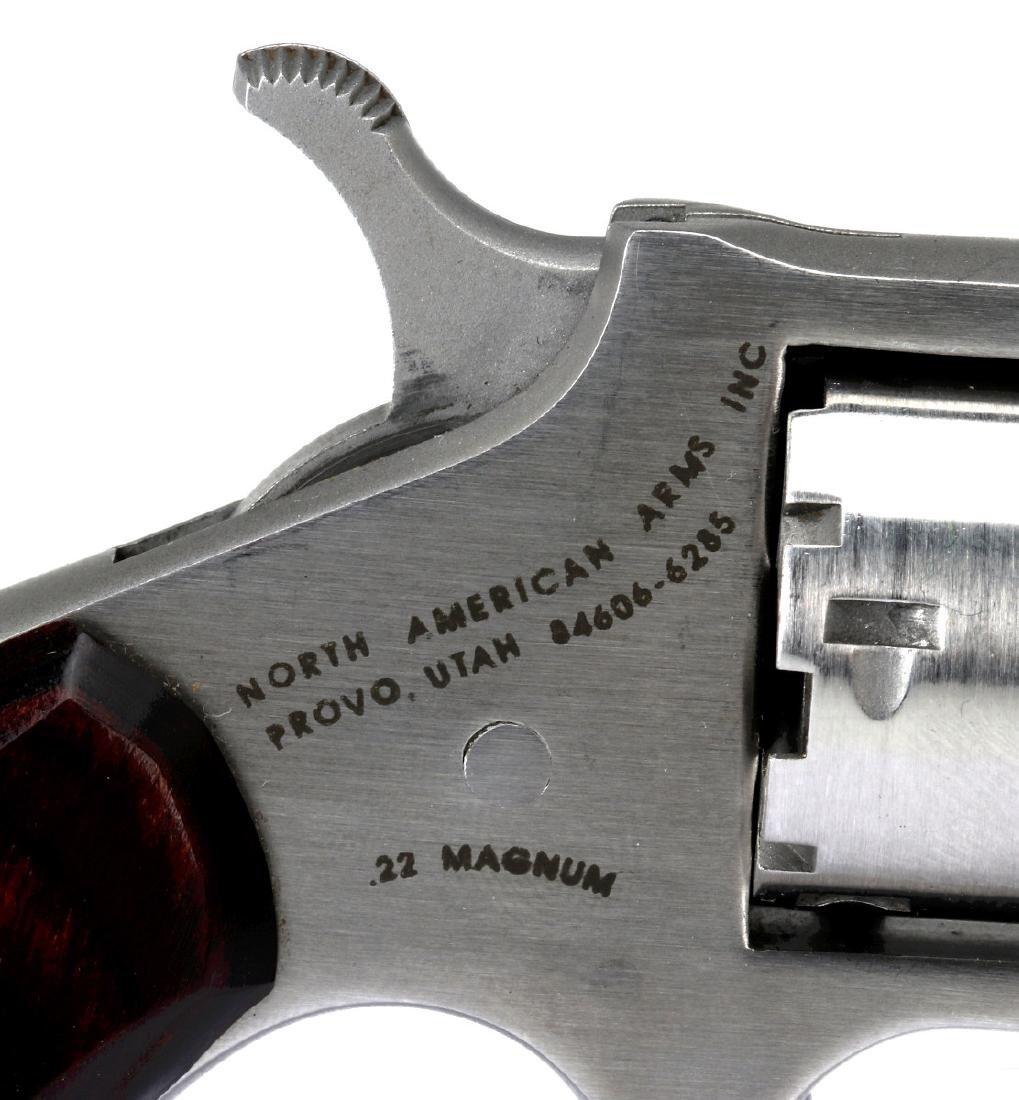 NORTH AMERICAN ARMS .22 MAGNUM MINI REVOLVER - 5