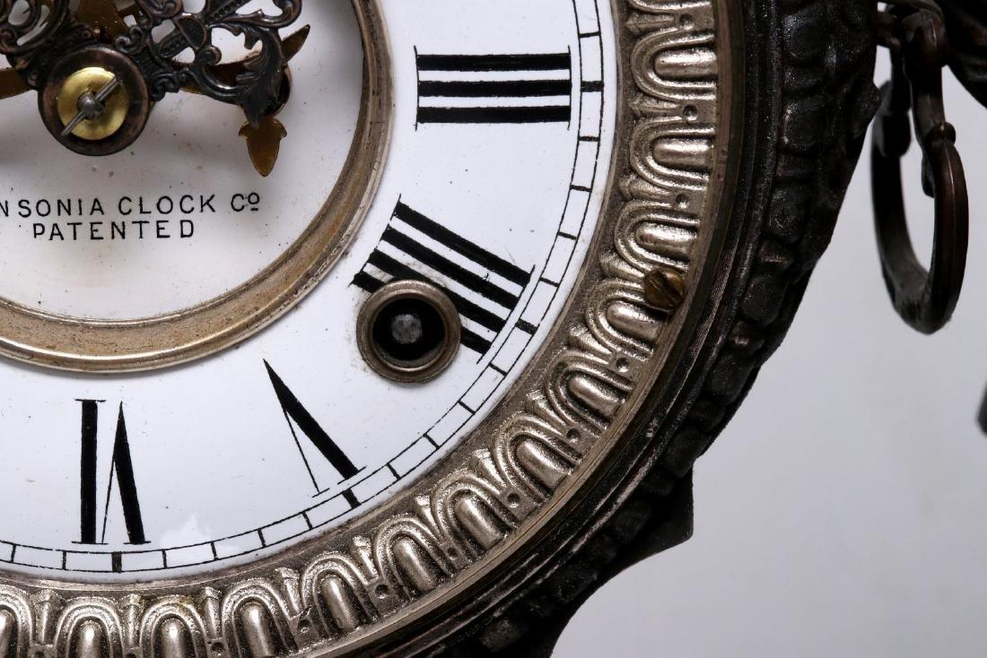 AN ANSONIA 'DON JUAN' STATUE CLOCK - 7