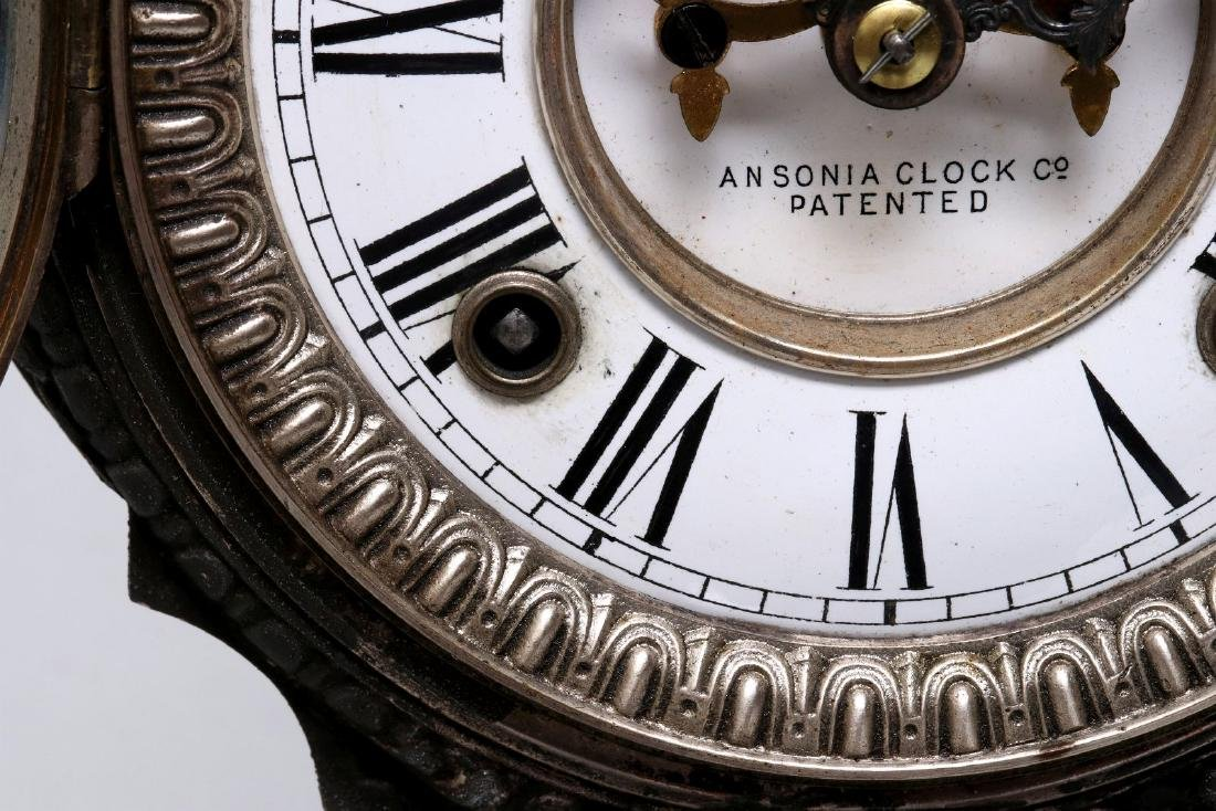 AN ANSONIA 'DON JUAN' STATUE CLOCK - 8
