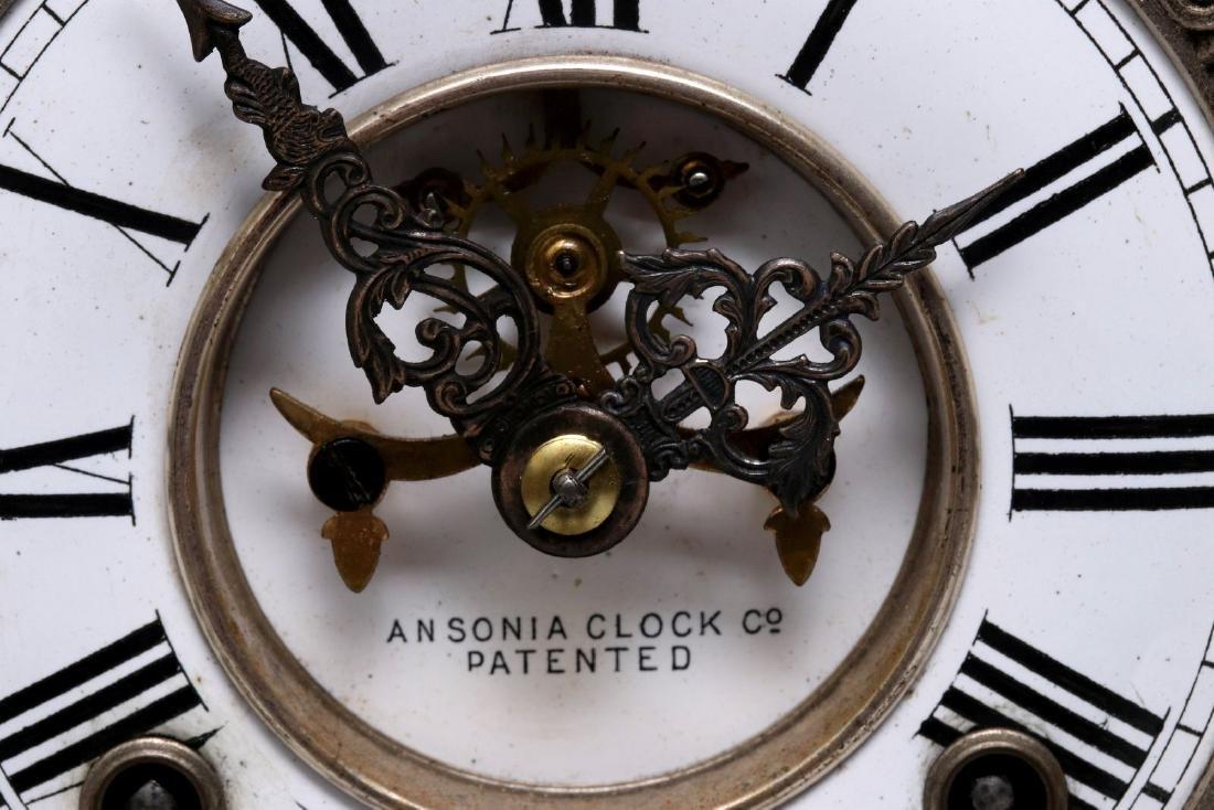 AN ANSONIA 'DON JUAN' STATUE CLOCK - 9
