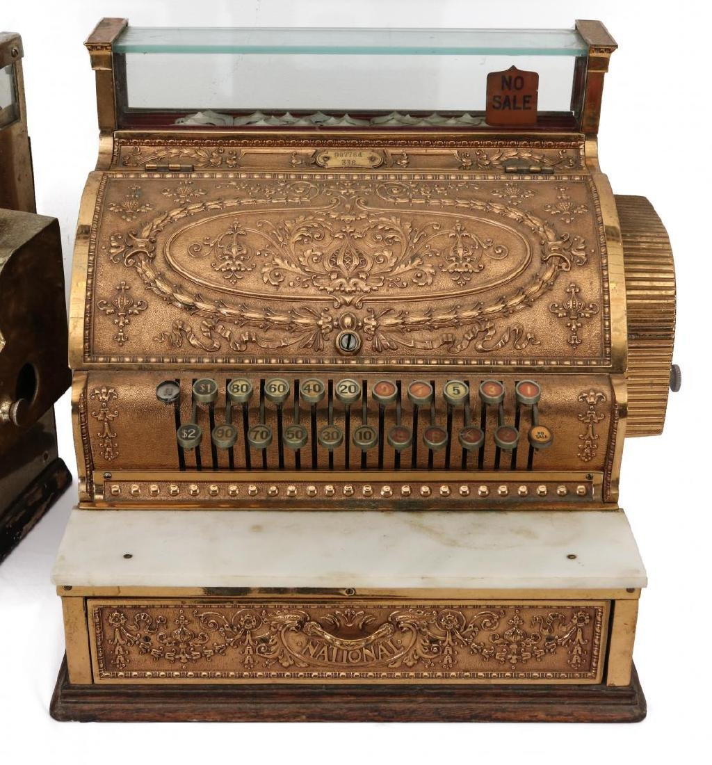 TWO EARLY 2OTH CENT CASH REGISTER MODELS FROM NCR - 2