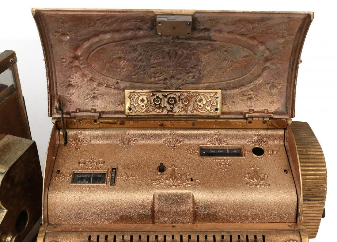 TWO EARLY 2OTH CENT CASH REGISTER MODELS FROM NCR - 8