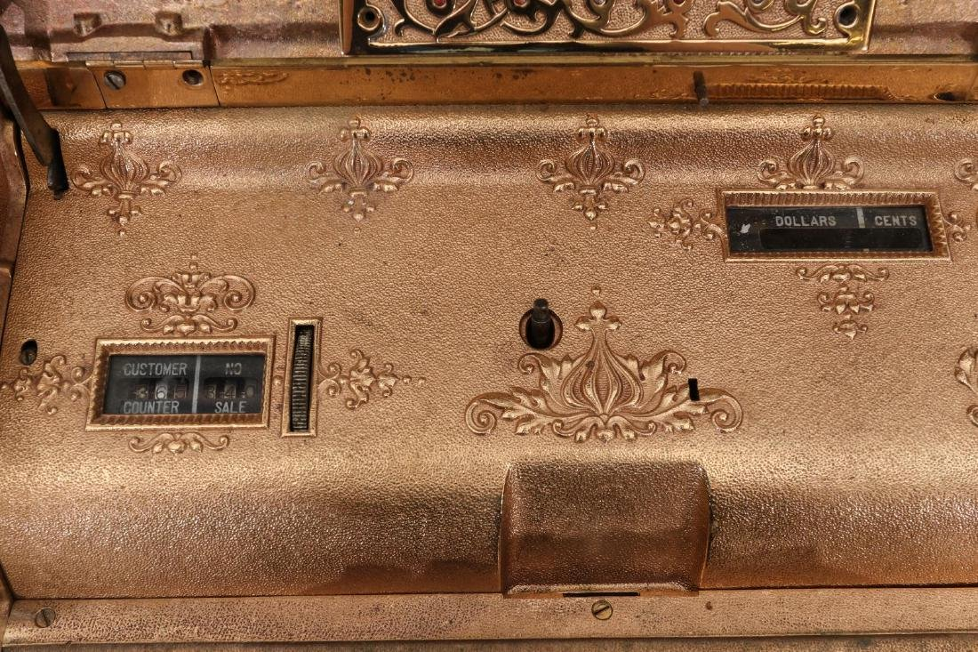 TWO EARLY 2OTH CENT CASH REGISTER MODELS FROM NCR - 9