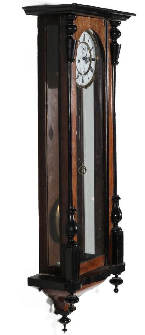 A 19TH CENTURY TWO WEIGHT VIENNA REGULATOR - 5