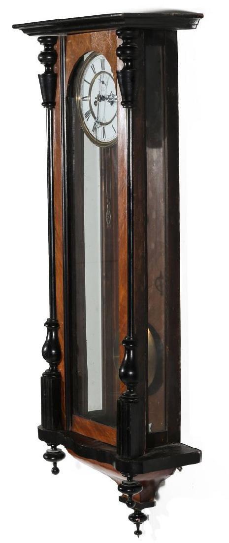 A 19TH CENTURY TWO WEIGHT VIENNA REGULATOR - 6