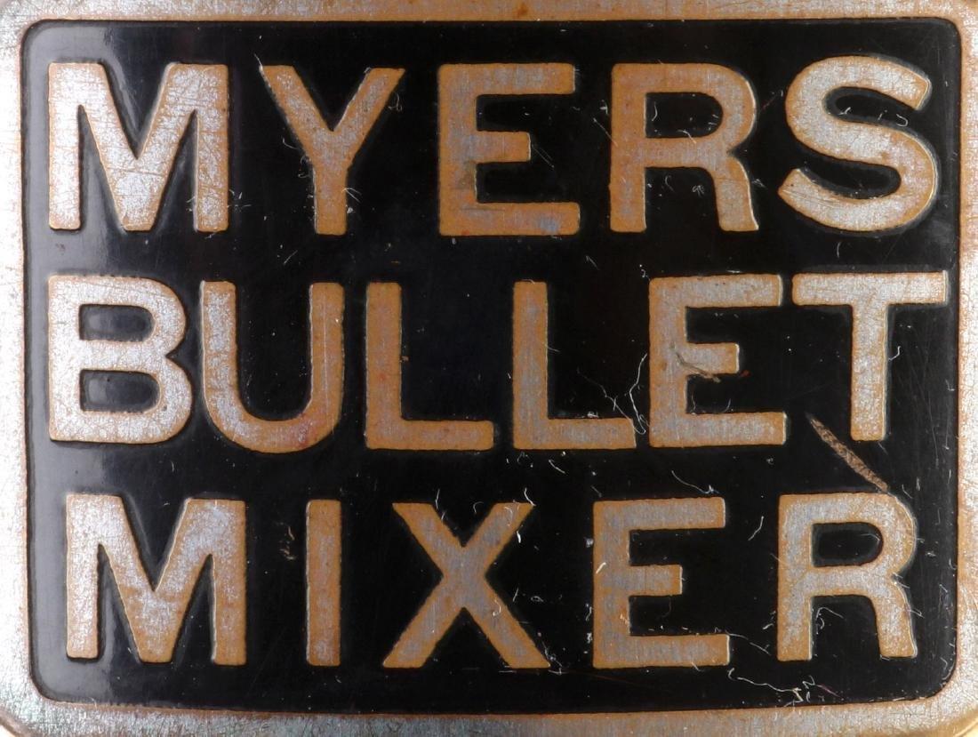 CIRCA 1930s DOUBLE BULLET SODA FOUNTAIN MIXER - 6