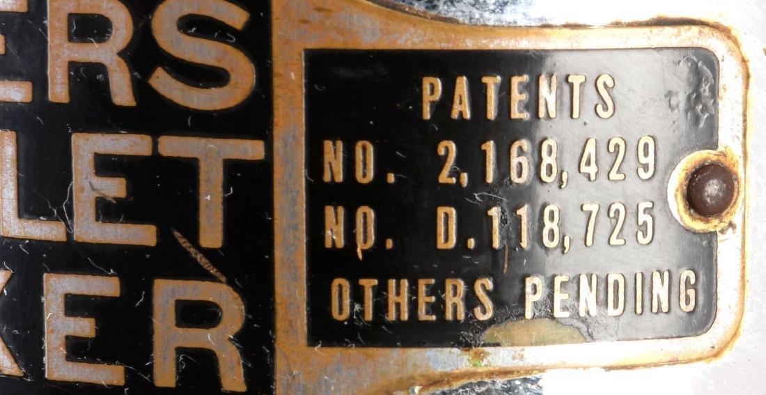 CIRCA 1930s DOUBLE BULLET SODA FOUNTAIN MIXER - 7