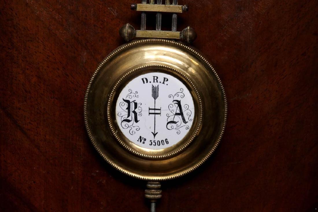 A VIENNA EIGHT-DAY REGULATOR WALL CLOCK - 10