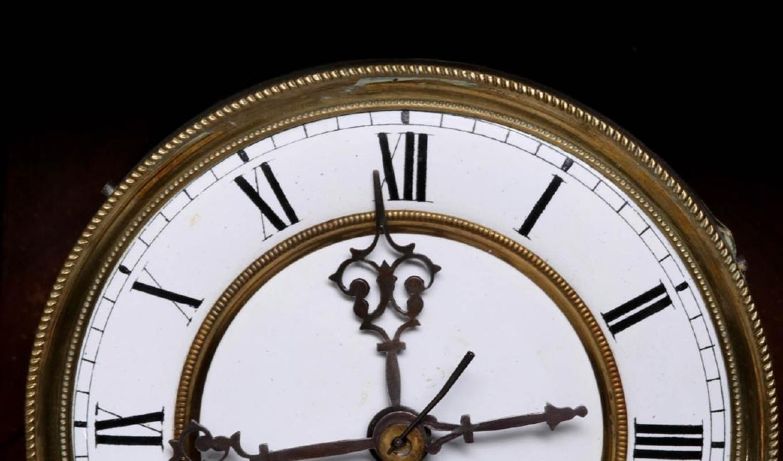 A VIENNA EIGHT-DAY REGULATOR WALL CLOCK - 8
