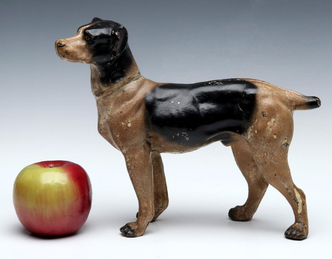 A HUBLEY CAST IRON DOG DOORSTOP - 2