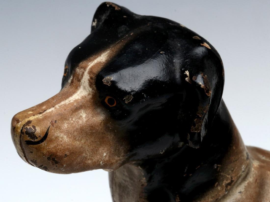 A HUBLEY CAST IRON DOG DOORSTOP - 3