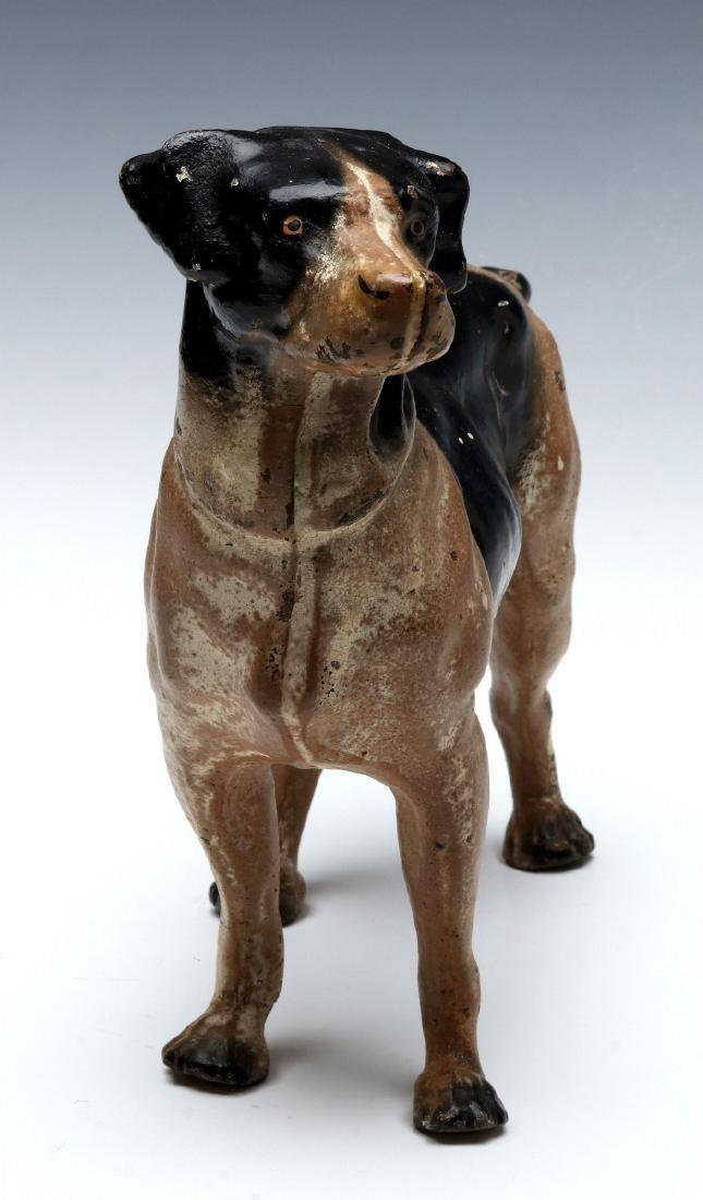 A HUBLEY CAST IRON DOG DOORSTOP - 9