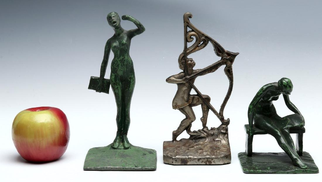 THREE UNUSUAL ART DECO BOOKENDS - 2