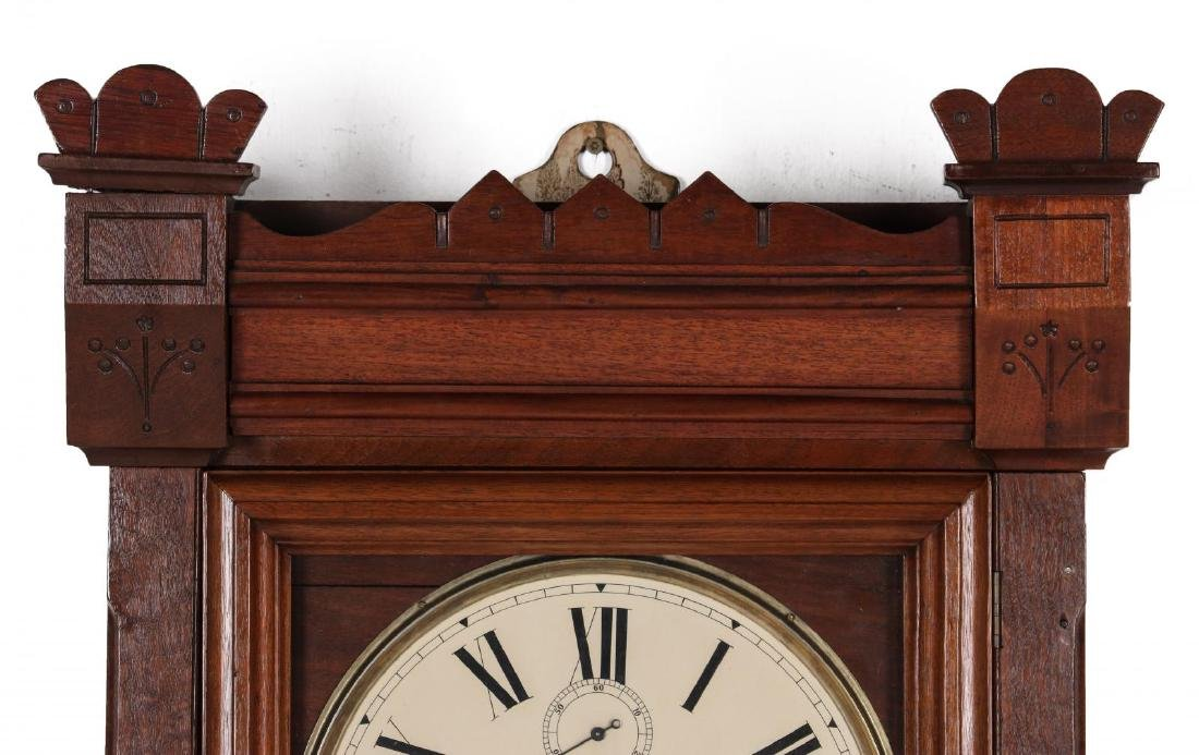 WALL CLOCK WITH NEW HAVEN MOVEMENT AND DIAL - 2