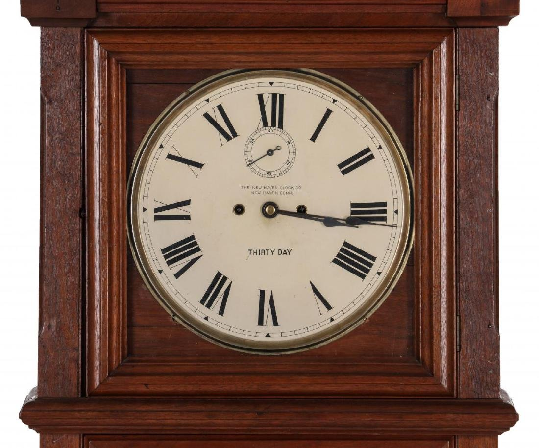 WALL CLOCK WITH NEW HAVEN MOVEMENT AND DIAL - 3