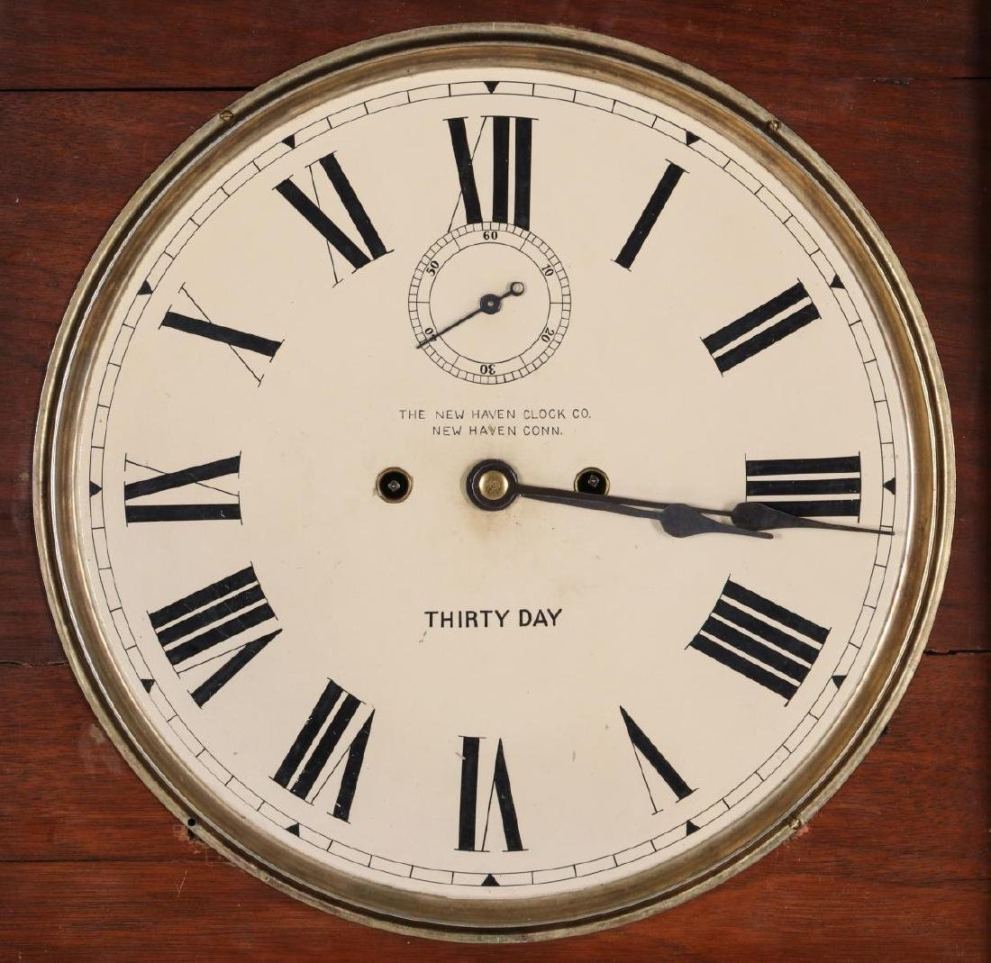 WALL CLOCK WITH NEW HAVEN MOVEMENT AND DIAL - 7