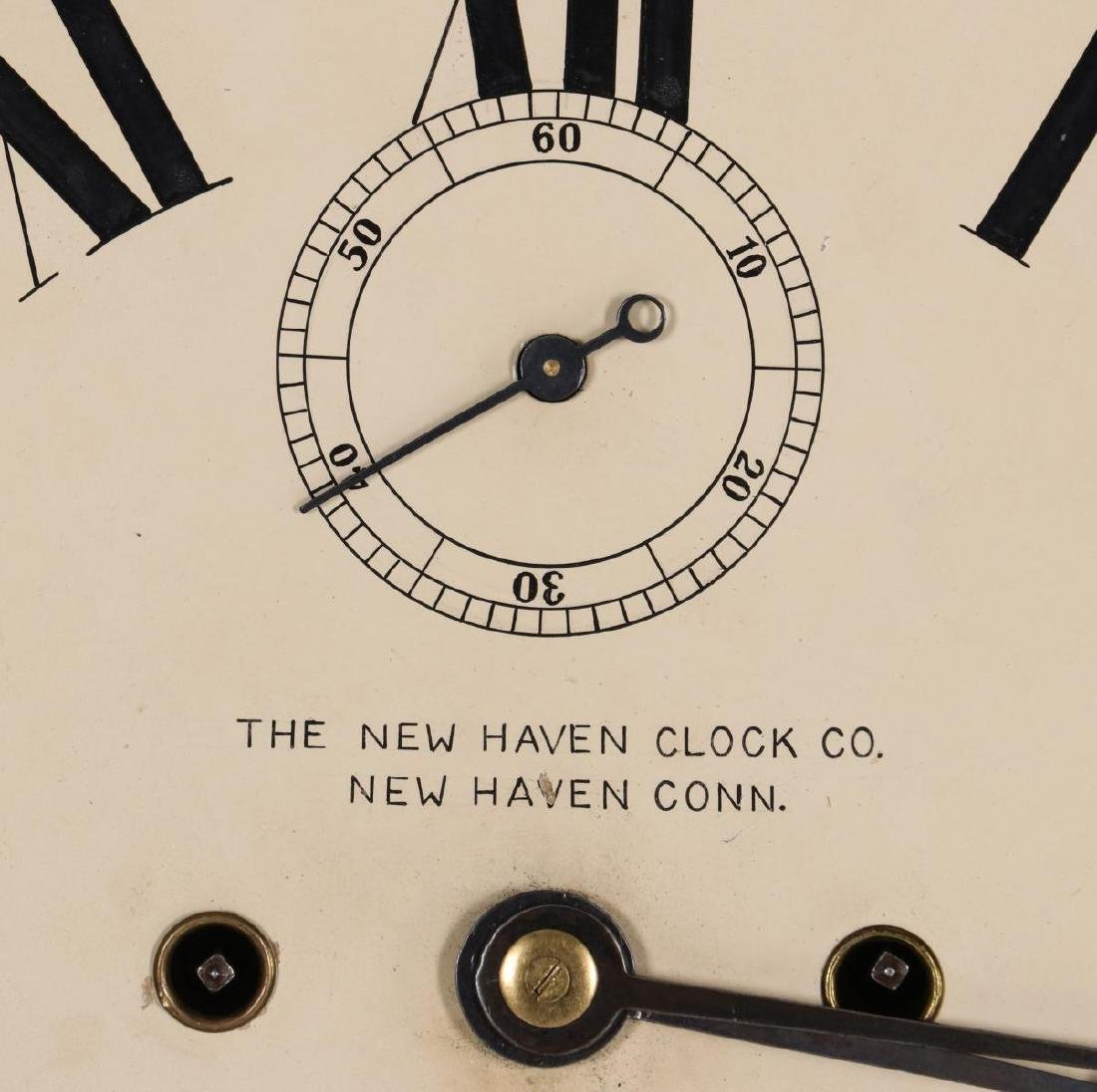 WALL CLOCK WITH NEW HAVEN MOVEMENT AND DIAL - 8