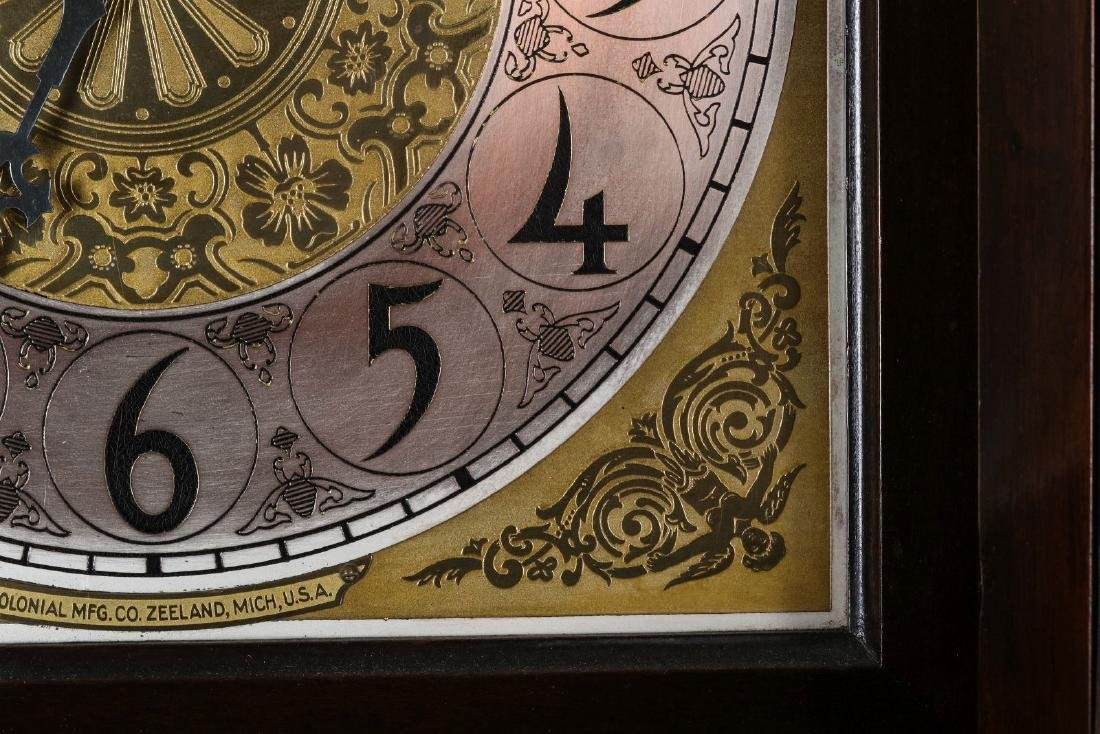 A COLONIAL MFG. GRANDFATHER CLOCK, C. EARLY 20TH C - 10