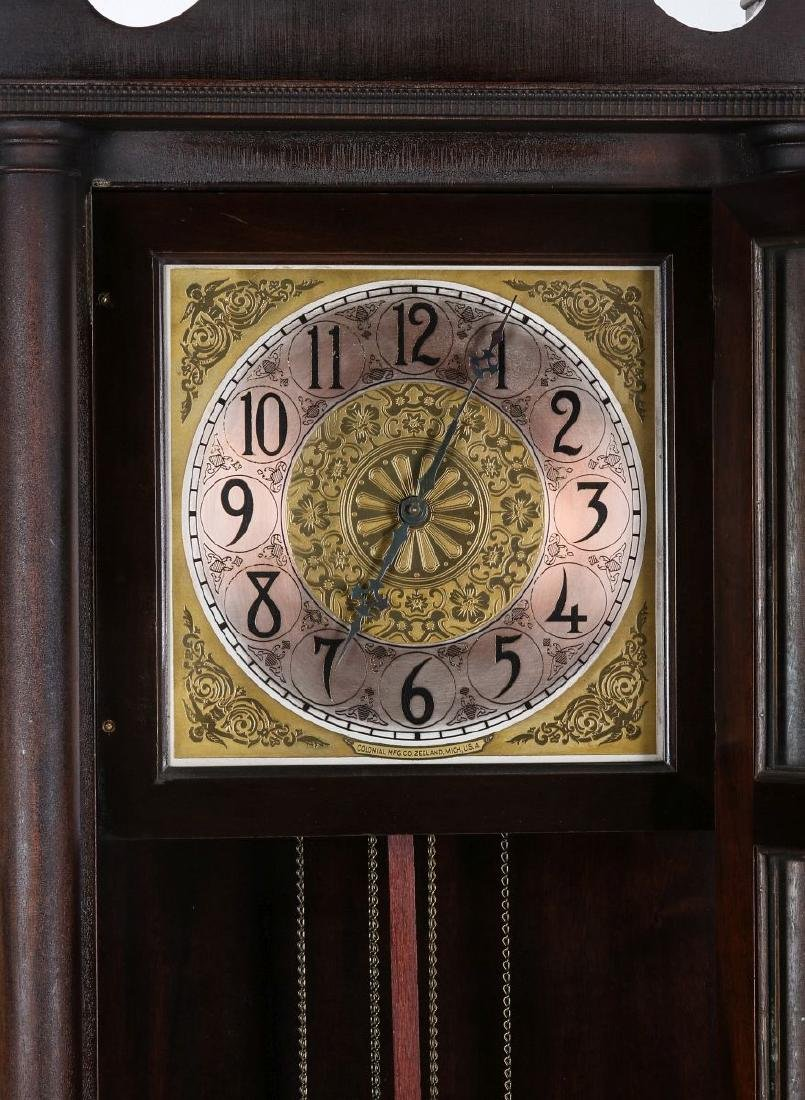 A COLONIAL MFG. GRANDFATHER CLOCK, C. EARLY 20TH C - 7