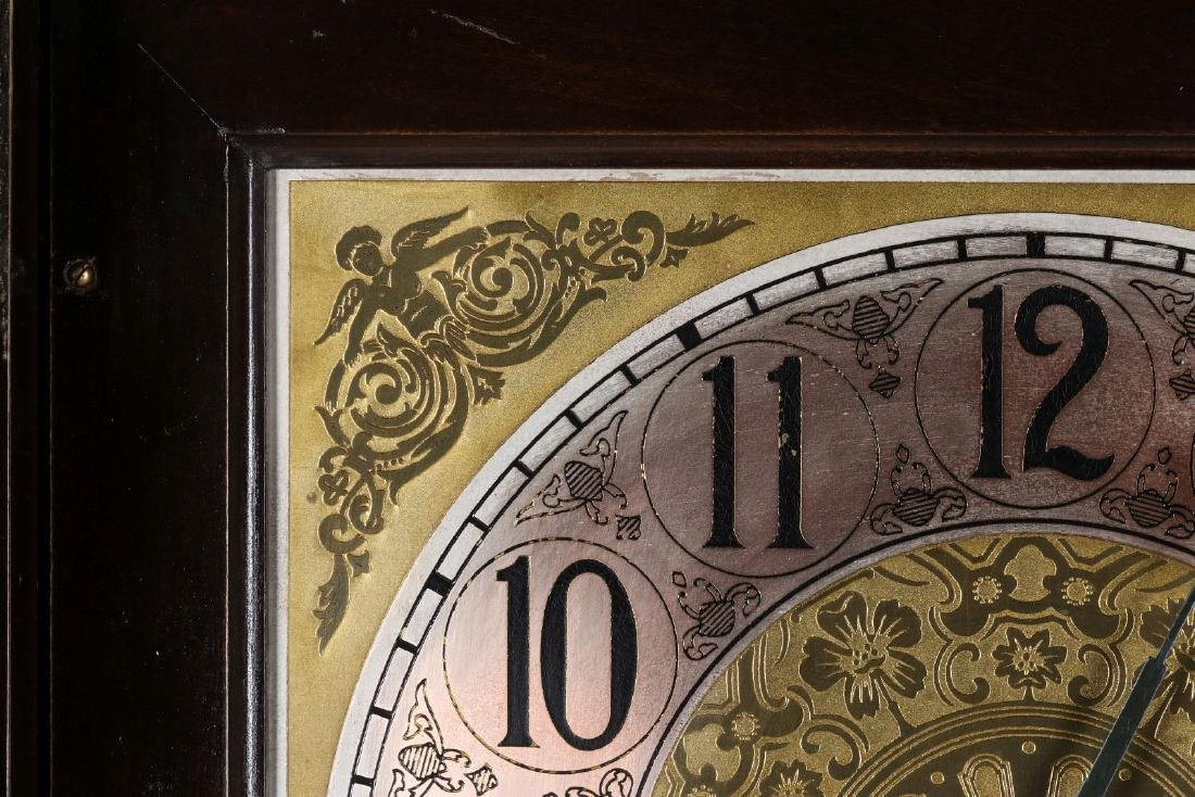 A COLONIAL MFG. GRANDFATHER CLOCK, C. EARLY 20TH C - 8