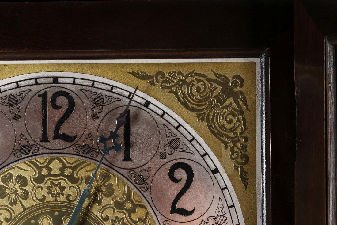 A COLONIAL MFG. GRANDFATHER CLOCK, C. EARLY 20TH C - 9