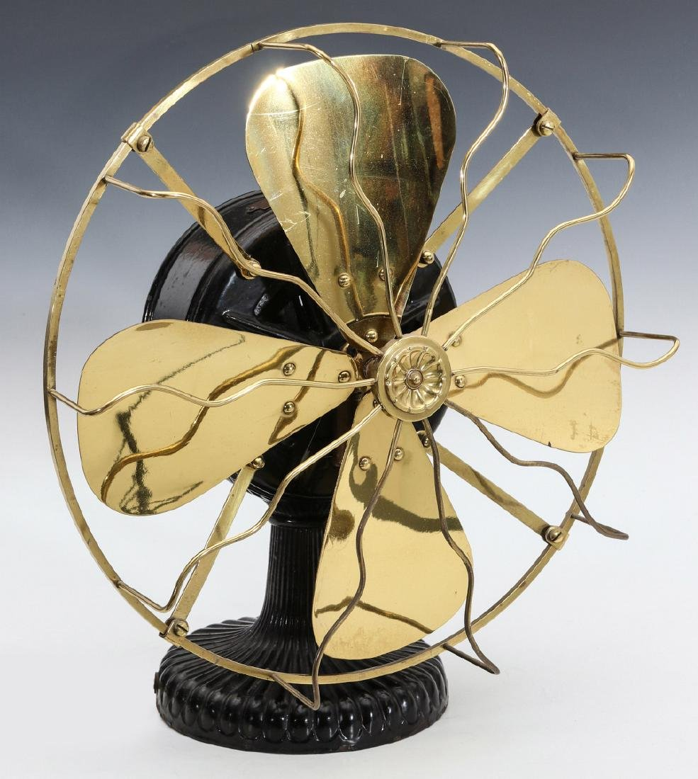 A NICE EARLY WESTINGHOUSE TESLA ELECTRIC FAN