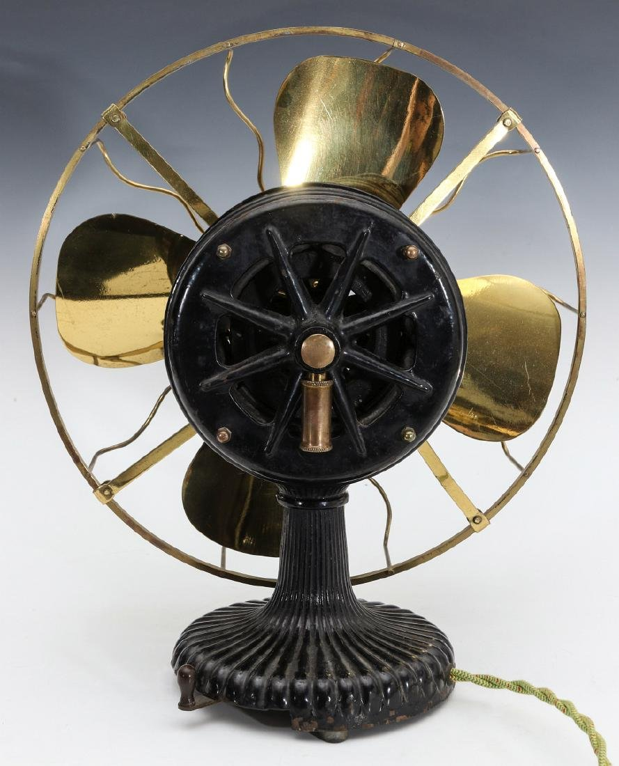 A NICE EARLY WESTINGHOUSE TESLA ELECTRIC FAN - 6