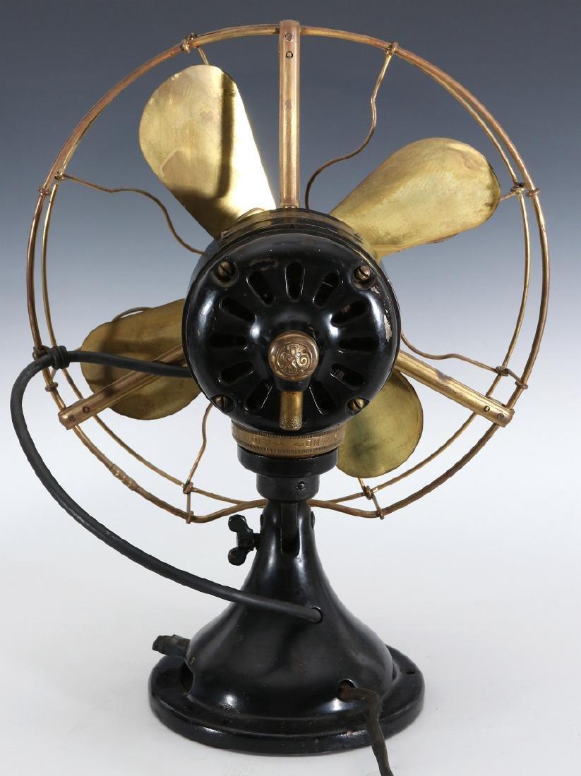 A GE COLLAR OSCILLATOR ELECTRIC FAN, CIRCA 1914 - 7