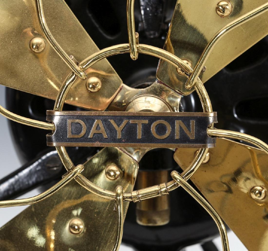 A DAYTON TAB BASE ELECTRIC FAN TYPE 65 - 4
