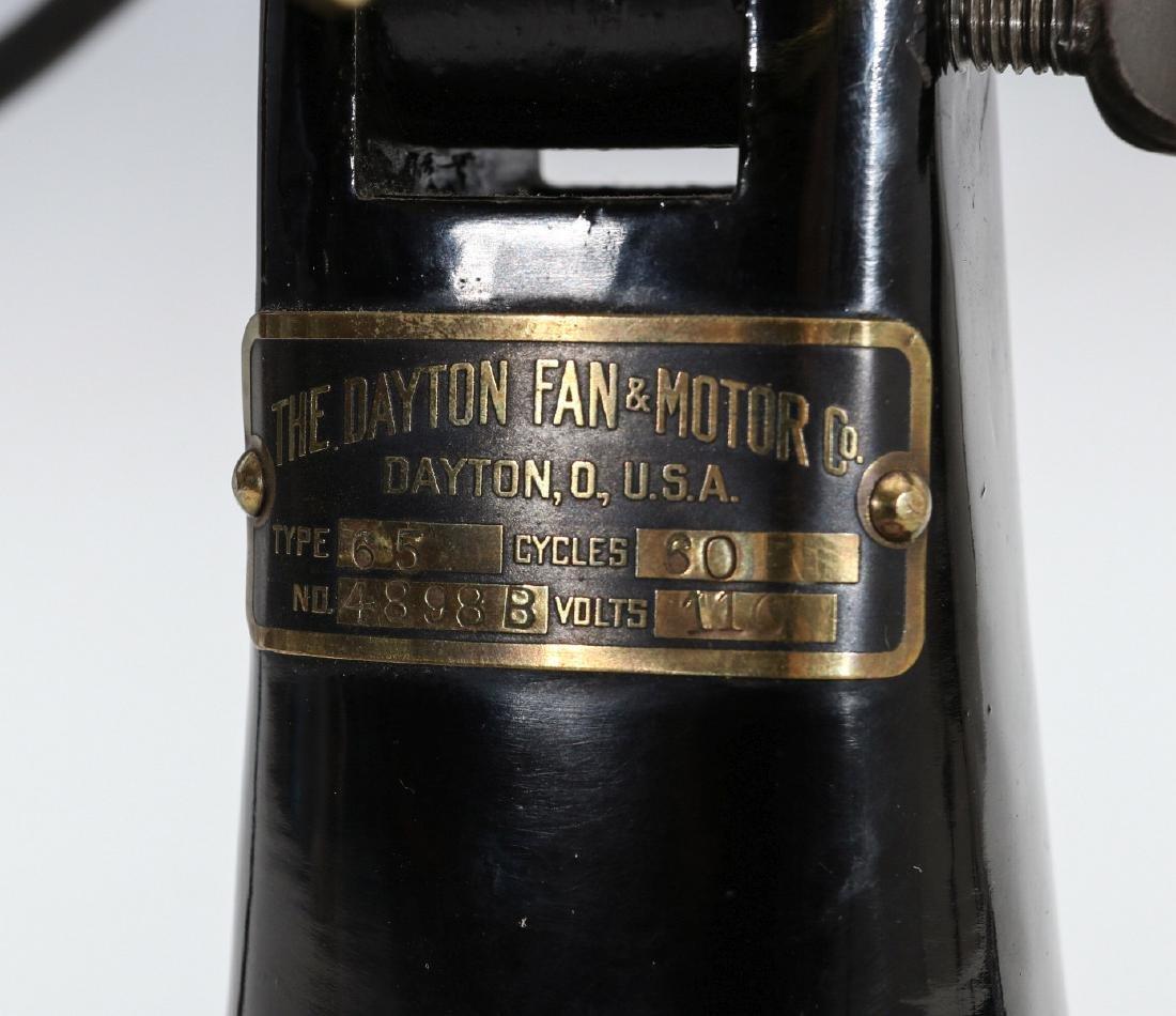 A DAYTON TAB BASE ELECTRIC FAN TYPE 65 - 6