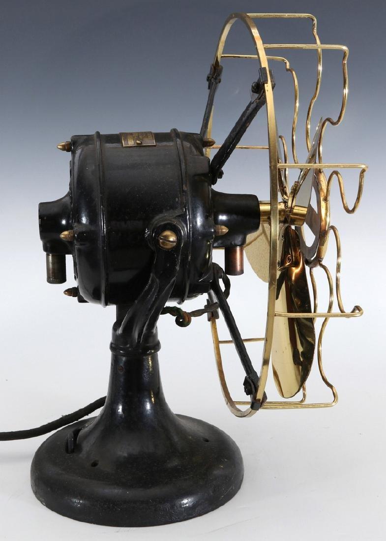 WESTERN ELECTRIC HAWTHORN VICTOR FAN, CIRCA 1906 - 10