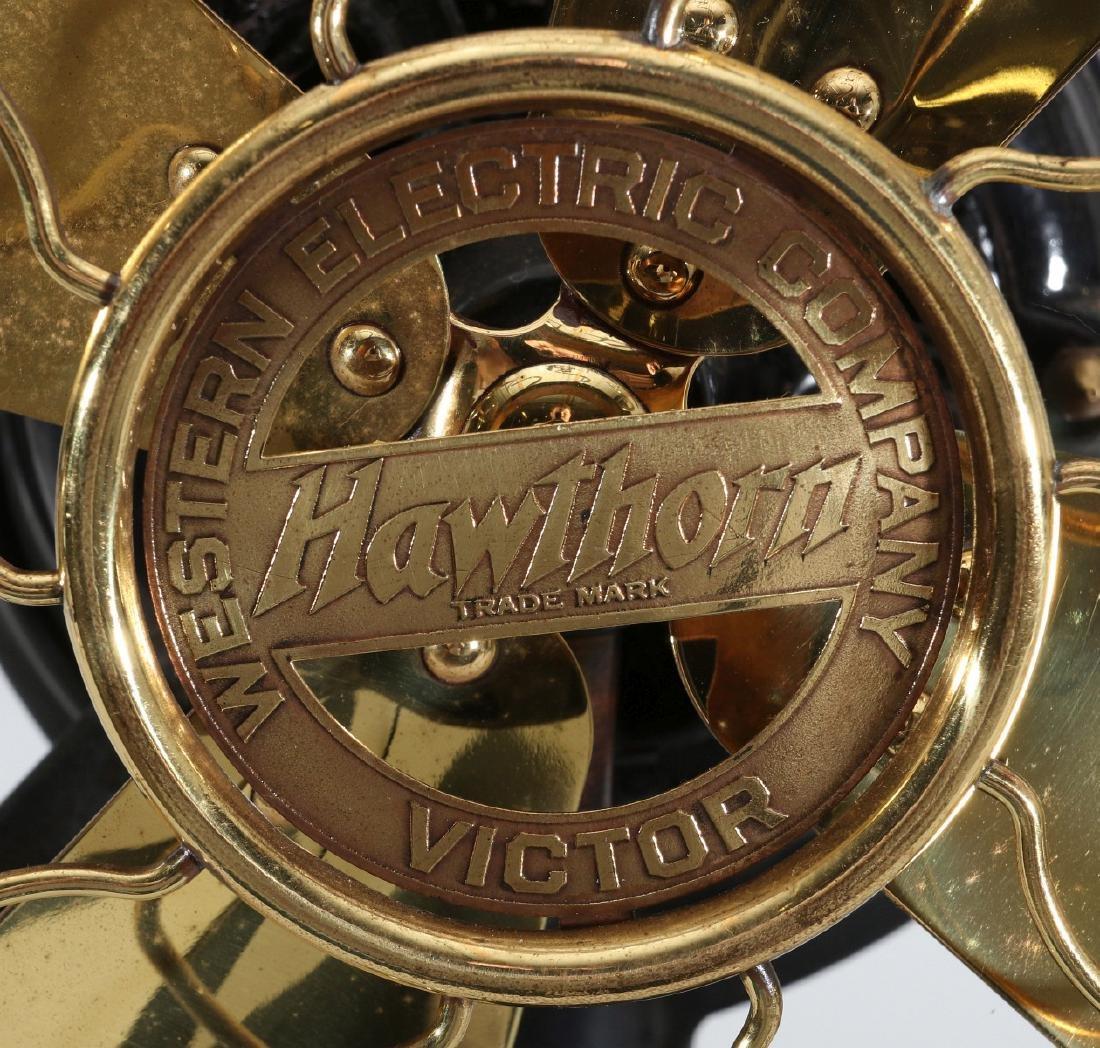 WESTERN ELECTRIC HAWTHORN VICTOR FAN, CIRCA 1906 - 4