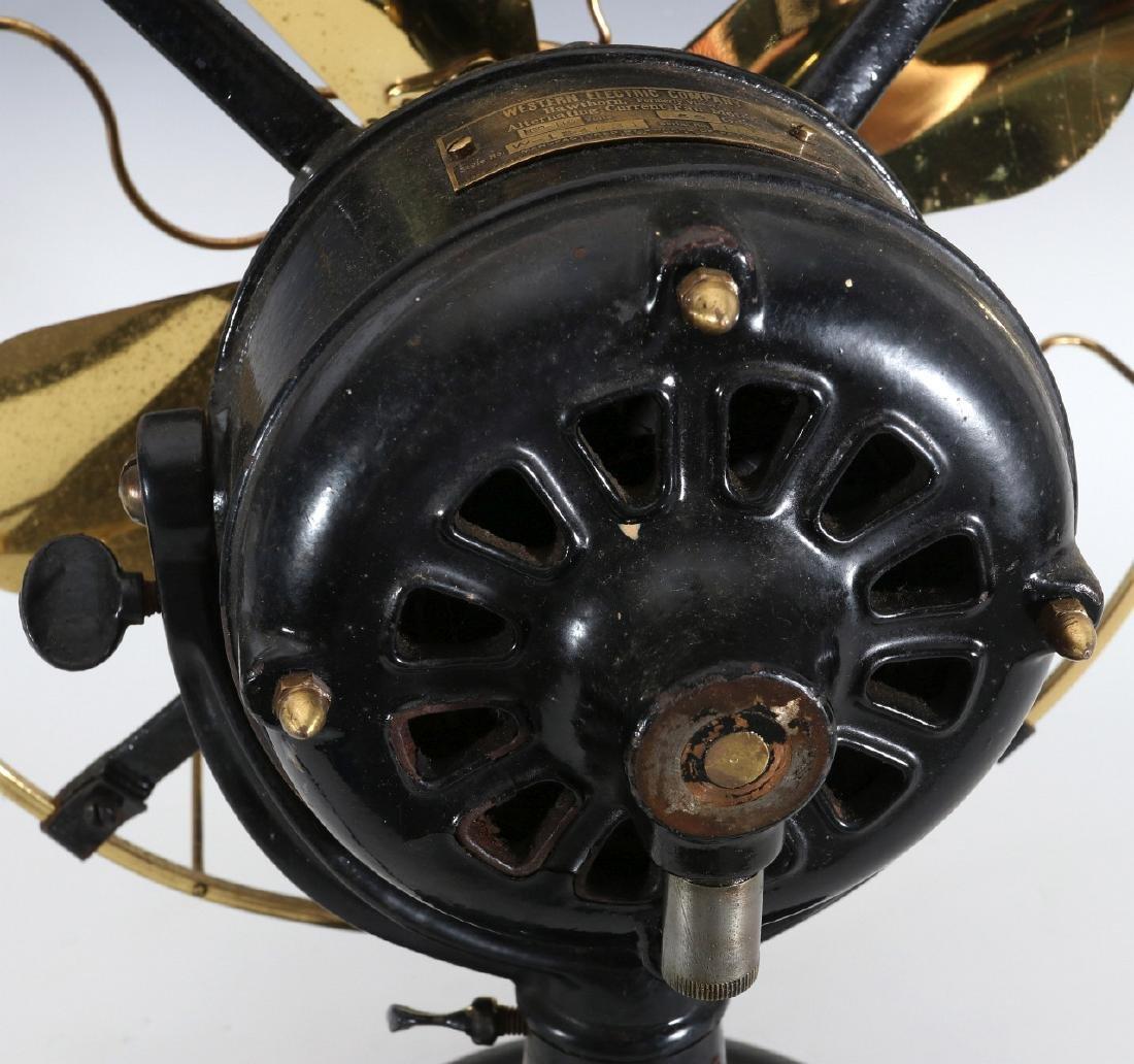 WESTERN ELECTRIC HAWTHORN VICTOR FAN, CIRCA 1906 - 8
